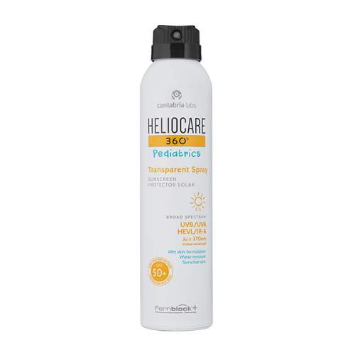 HELIOCARE 360º Pediatrics Transparent Spray SPF 50+